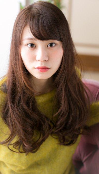 【granew】斜めバング×ナチュラルウェーブ 長野綾子.jpg