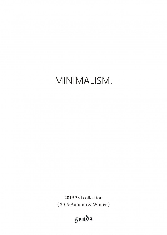 2019A/W・MINIMALISM